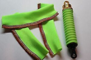 Traxxas X-MAXX 1/5 Monster Track tuning Shock Covers Socks Neon-toxic-green 4ps