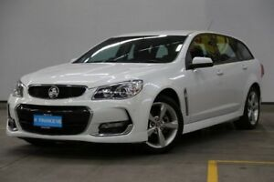 2015 Holden Commodore VF II MY16 SV6 Sportwagon White 6 Speed Sports Automatic Wagon