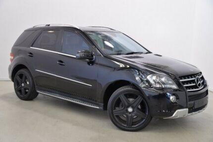 2011 Mercedes-Benz ML350 CDI W164 MY11 Black 7 Speed Sports Automatic Wagon
