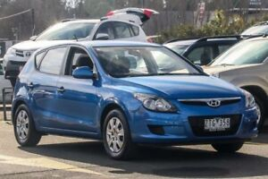 2011 Hyundai i30 FD MY11 SX Blue 4 Speed Automatic Hatchback Ringwood East Maroondah Area Preview