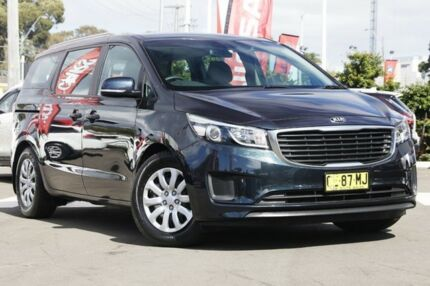 2015 Kia Carnival YP MY15 S Charcoal 6 Speed Sports Automatic Wagon