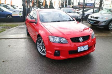 2011 Holden Commodore VE II SV6 Red 6 Speed Automatic Sedan