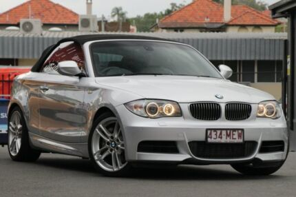 2011 BMW 135I E82 LCI MY0911 M Sport D-CT Silver 7 Speed Sports Automatic Dual Clutch Coupe