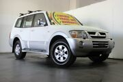 2003 Mitsubishi Pajero NP Exceed LWB (4x4) White 5 Speed Auto Sports Mode Wagon Underwood Logan Area Preview