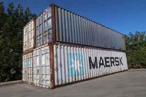 40' Standard Shipping Containers