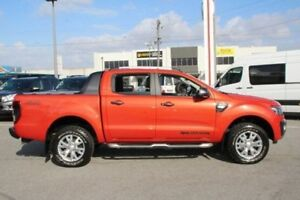 2015 Ford Ranger Orange Sports Automatic Utility