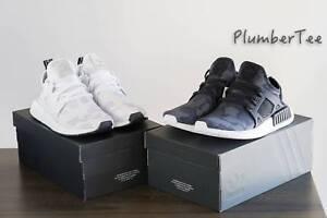 W US 7.5   US 8 Brand New Adidas Original NMD XR1 Black and White Melbourne CBD Melbourne City Preview