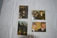 Four Beatles and Two Batman and One Stooges Collector Cards