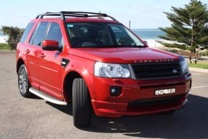 2012 Land Rover Freelander 2 SD4 Sports Limited Edition