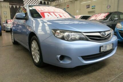 2010 Subaru Impreza MY10 RS (AWD) Ltd Ed 4 Speed Automatic Hatchback Mordialloc Kingston Area Preview