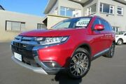 2016 Mitsubishi Outlander ZK MY17 LS 4WD Red 6 Speed Constant Variable Wagon Devonport Devonport Area Preview