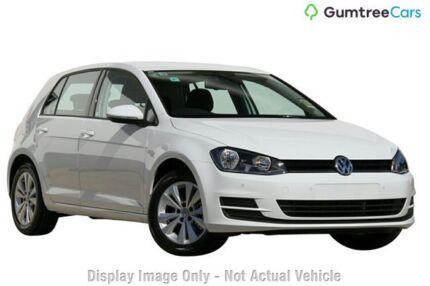 2013 Volkswagen Golf VII MY14 90TSI DSG Comfortline White 7 Speed Sports Automatic Dual Clutch