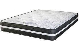 Top sprung memory foam mattress