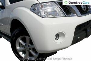 2013 Nissan Navara D40 S5 MY12 ST-X Red 7 Speed Sports Automatic Utility