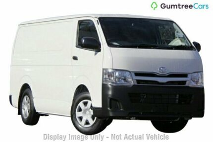 2012 Toyota Hiace KDH201R MY11 LWB White 4 Speed Automatic Van