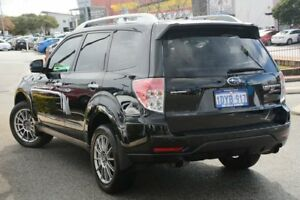 2011 Subaru Forester S3 MY11 S-EDITION AWD Obsidian Black 5 Speed Sports Automatic Wagon