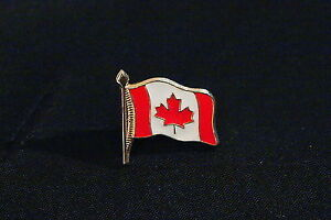 4 collectible Canadian & USA flag hat pins Kingston Kingston Area image 2