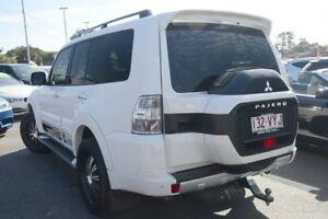 2015 Mitsubishi Pajero NX MY16 Exceed White 5 Speed Sports Automatic Wagon
