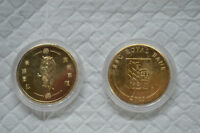 Two RBC Gold Plated Year Of The Tiger Coins