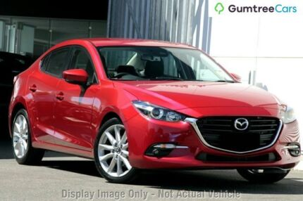 2017 Mazda 3 BN MY17 SP25 Soul Red 6 Speed Automatic Sedan Liverpool Liverpool Area Preview