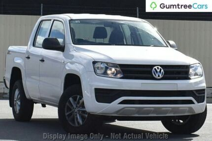 2017 Volkswagen Amarok 2H MY17 TDI420 4MOTION Perm Core White 8 Speed Automatic Utility