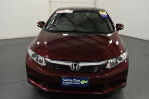 2012 Honda Civic MY12 VTi-L Red 5 Speed Automatic Sedan