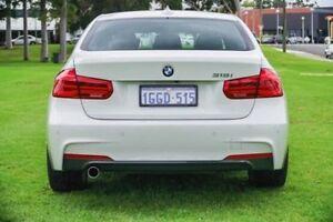 2016 BMW 318I F30 LCI M Sport White 8 Speed Sports Automatic Sedan