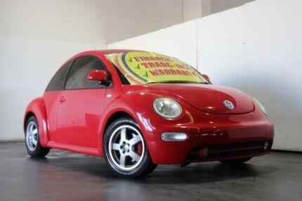 2001 Volkswagen Beetle 9C Turbo Red 5 Speed Manual Hatchback Underwood Logan Area Preview