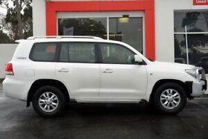 2010 Toyota Landcruiser VDJ200R MY10 60th Anniversary White 6 Speed Sports Automatic Wagon Upper Ferntree Gully Knox Area Preview