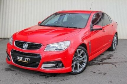 2014 Holden Commodore Red Sports Automatic Sedan