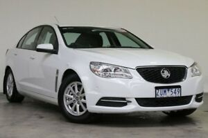 2013 Holden Commodore VF MY14 Evoke Heron White 6 Speed Sports Automatic Sedan Southbank Melbourne City Preview