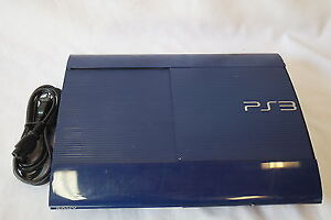 PS3 Azure 250GB limited edition +PS3 Games