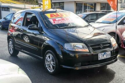 2006 Holden Barina TK Black 4 Speed Automatic Hatchback Ringwood East Maroondah Area Preview