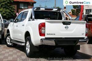 2017 Nissan Navara ST ST Polar White Sports Automatic Dual Cab Utility