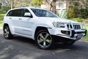 2014 Jeep Grand Cherokee WK MY2014 Overland White 8 Speed Sports Automatic Wagon St Marys Mitcham Area Preview