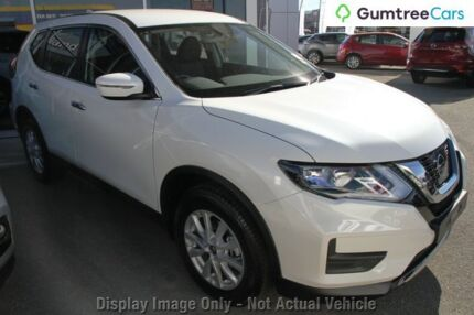2017 Nissan X-Trail ST ST Ivory Pearl Constant Variable Wagon