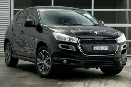 2013 Peugeot 4008 MY12 Active 2WD Black 6 Speed Constant Variable Wagon