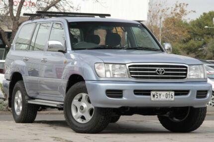 2002 Toyota Landcruiser HDJ100R GXL Advantage Limited Edition Blue 4 Speed Automatic Wagon
