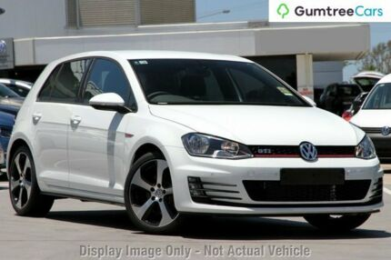 2014 Volkswagen Golf VII MY14 GTi White 6 Speed Manual Hatchback Osborne Park Stirling Area Preview