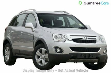 2012 Holden Captiva CG Series II 5 AWD Silver 6 Speed Sports Automatic Wagon Clarkson Wanneroo Area Preview