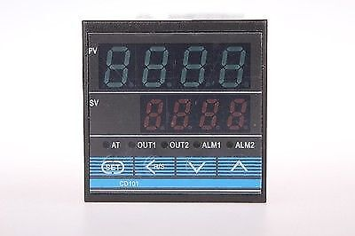 Dual Digital Pid Temperature Controller Control Cd101 With K Type Sensor