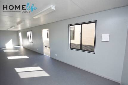 12m x 3m office/granny flat/lunch room. AS NEW