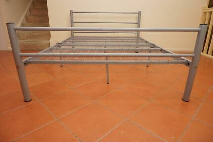 Steel Double bed,