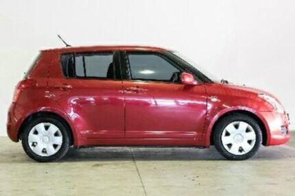 2008 Suzuki Swift RS415 RE1 Red Manual Hatchback Northgate Brisbane North East Preview