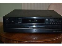 Onkyo six disc continuous play cd player reducd to 30 pounds