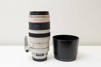 Canon EF 100-400mm F4.5-5.6 L IS USM Lens Included Lens Hood