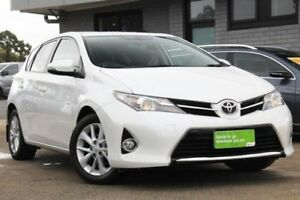 2013 Toyota Corolla ZRE182R Ascent Sport White 6 Speed Manual Hatchback Hillcrest Port Adelaide Area Preview