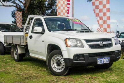 2009 Holden Colorado RC MY09 LX Crew Cab White 5 Speed Manual Utility