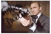 Daniel Craig Autogramm