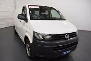 2013 Volkswagen Transporter T5 MY12 TDI 400 Crewvan LWB White 7 Speed Auto Direct Shift Van